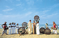 tropical wedding locations, celebrity,bridal,wedding,beach,abroad,Sri Lanka,St Lucia,Las Vegas,Cyprus