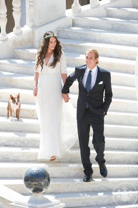 andrea casiraghi wedding