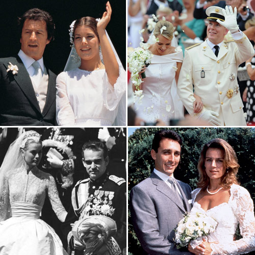 Monaco Royal weddings