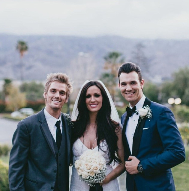 aaron carter wedding