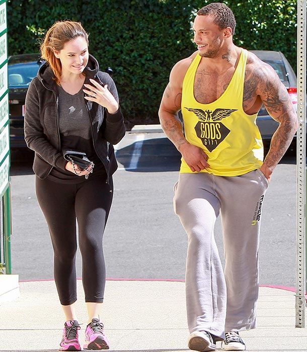 kelly brook and david macintosh