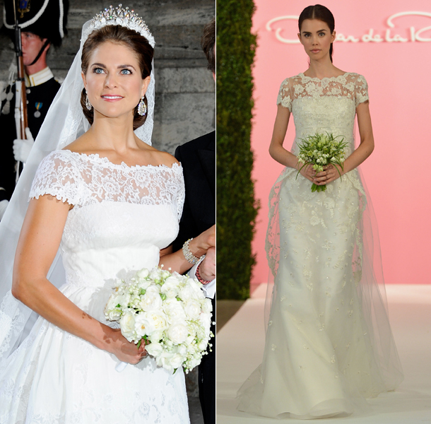 Princess Madeleine wedding dress
