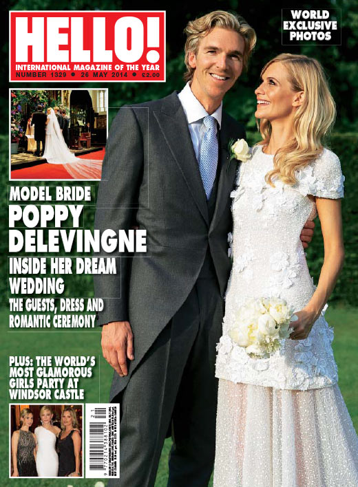 POPPY DELEVINGNE WEDDING