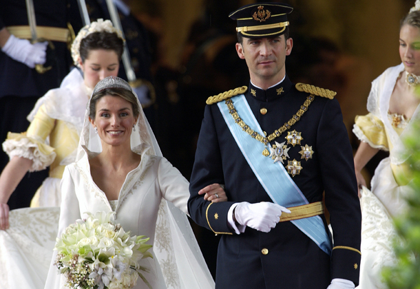 Prince Felipe and Princess Letizia wedding