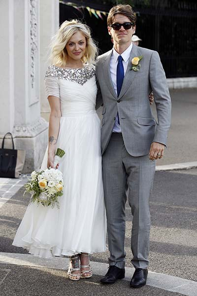 Fearne Cotton wedding
