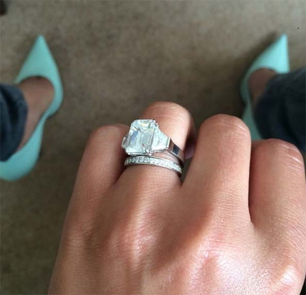 Cheryl Cole's engagement ring