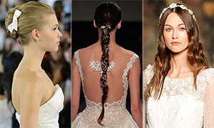 Wedding hair: the best bridal inspiration from the catwalk