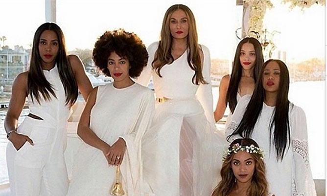 Kelly Rowland shares bridesmaids' photo from Tina Knowles' wedding