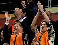 Dutch Royals at the World Cup