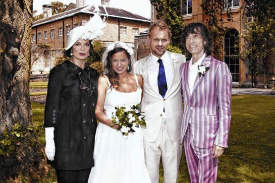 Jade Jagger wedding