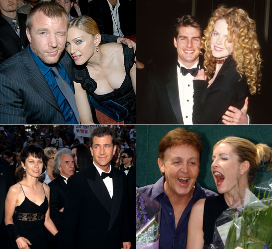 Celeb divorces