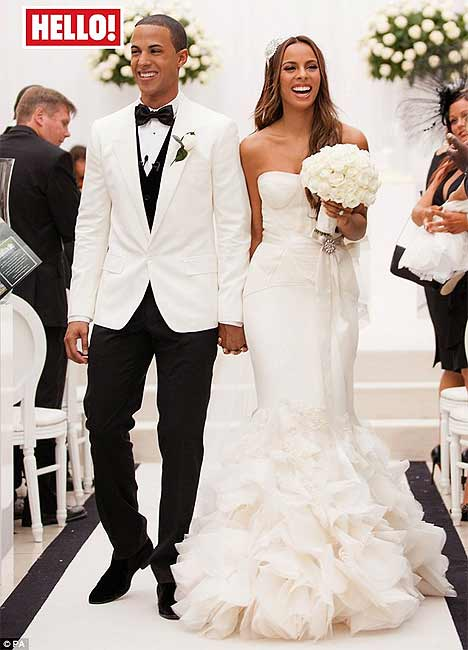 Rochelle and Marvin's stunning wedding