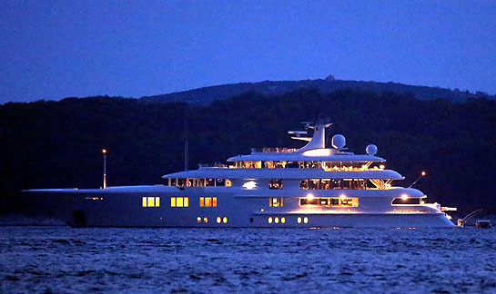 Tom Cruise Yacht