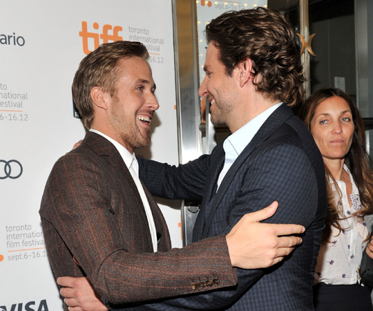 Ryan Gosling and Bradley Cooper