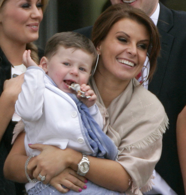 Coleen Rooney and Kai