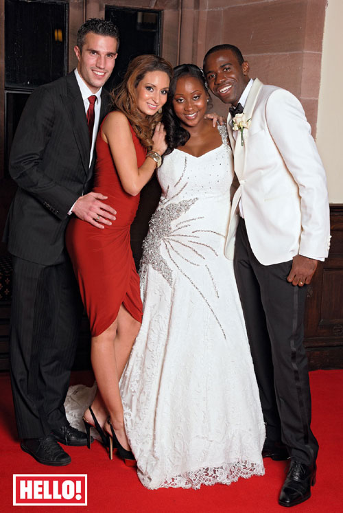 Fabrice Muamba wedding