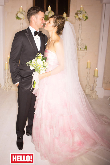 Justin Timberlake wedding
