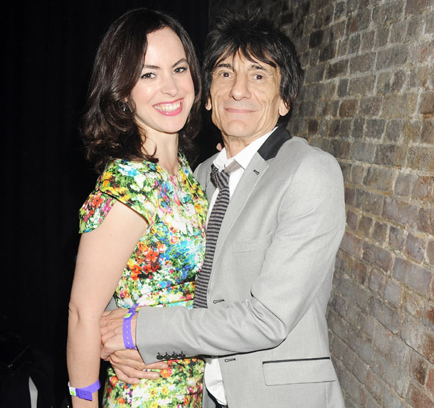 Ronnie Wood engaged