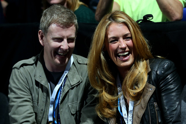 Cat Deeley and Patrick