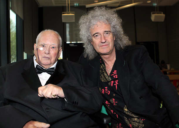 Sir Richard Moore and Brian May