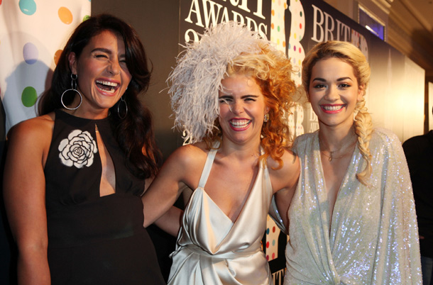 Rita Ora and Paloma Faith
