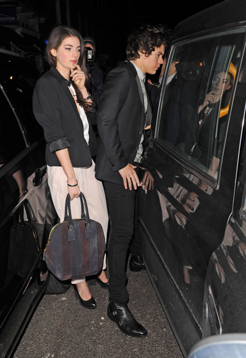Harry Styles and model Millie Brady