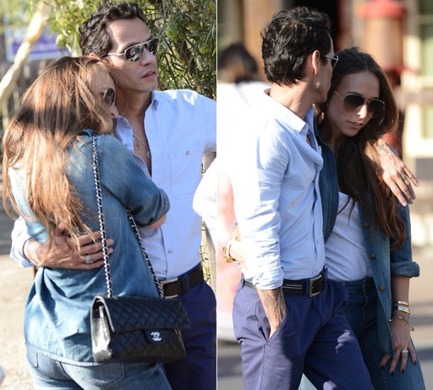 Marc Anthony and Chloe