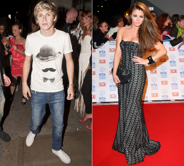 Niall Horan and Brooke Vincent