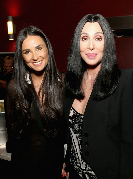Demi Moore and Cher