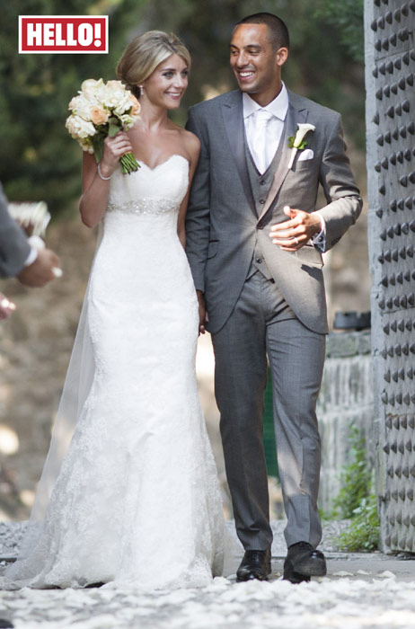 Theo Walcott wedding