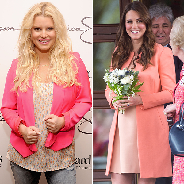 Jessica Simpson and Kate Middleton