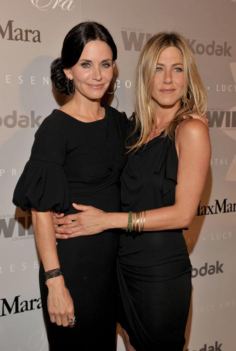 Jennifer and Courteney