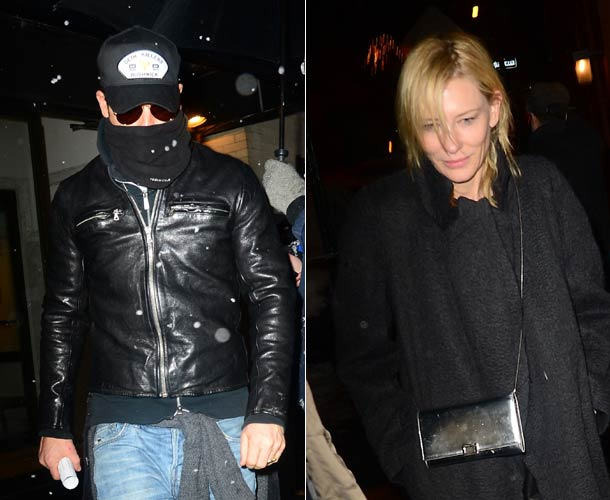 Justin Theroux and Cate Blanchett