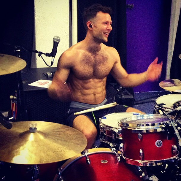 Harry Judd of McBusted
