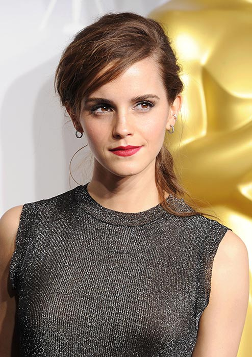 Emma Watson at the Academy Awards.