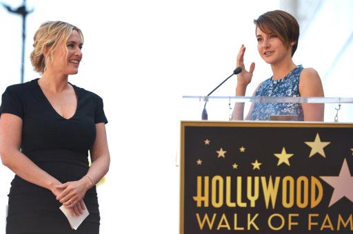 Kate Winslet and Shailene Woodley.