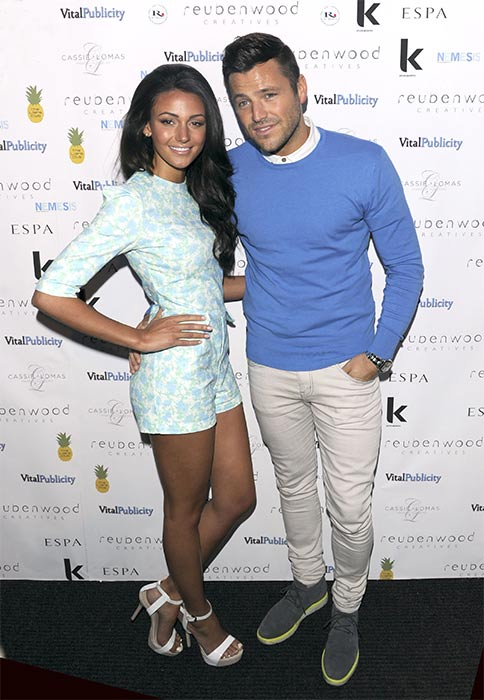 Mark Wright and Michelle Keegan.