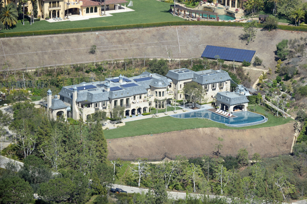 Gisele Bundchen and Tom Brady's house