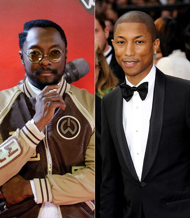 Will I Am and Pharrell