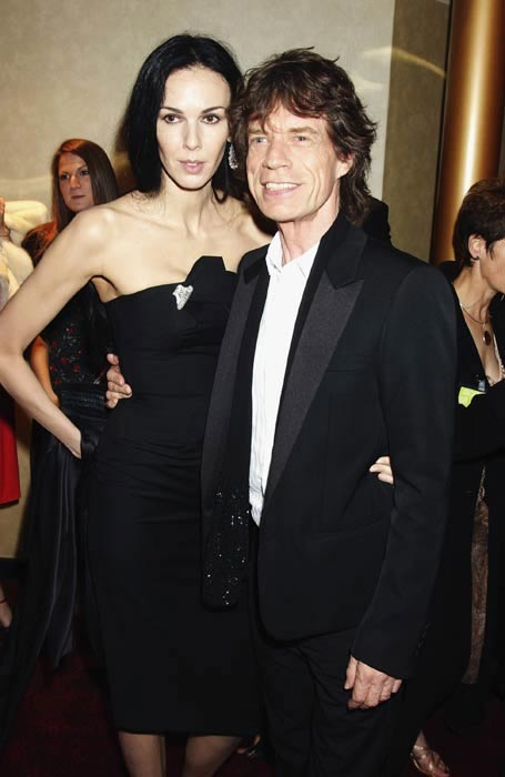 L'Wren Scott and Mick Jagger met in 2001.