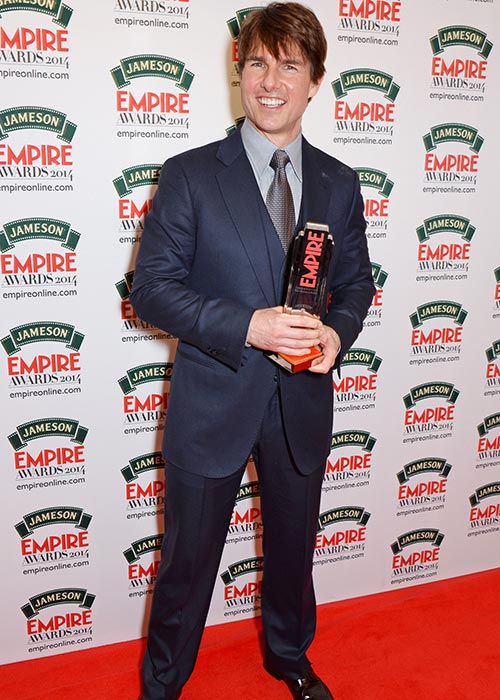 Tom Cruise at the Empire Film Awards