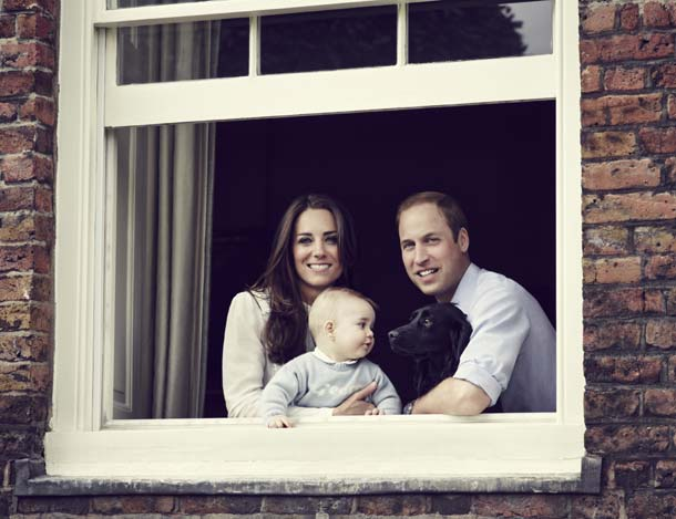 kate middleton and Prince William and Prince George