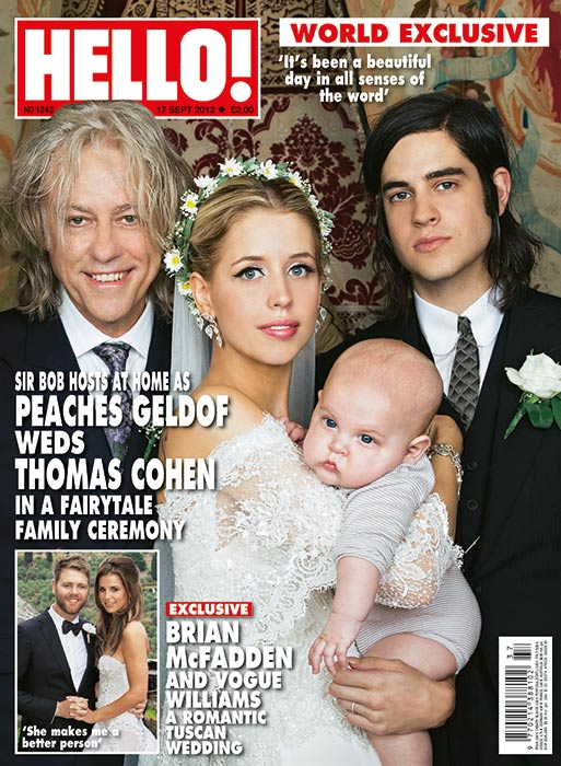 Peaches Geldof Thomas Cohen Wedding