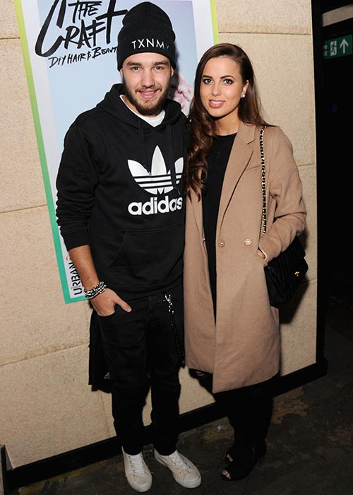 Liam Payne and his girlfriend