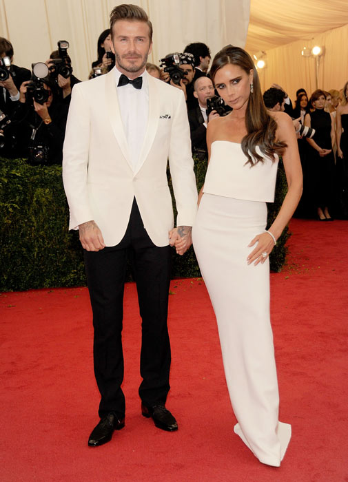 David and Victoria Beckham in NYC