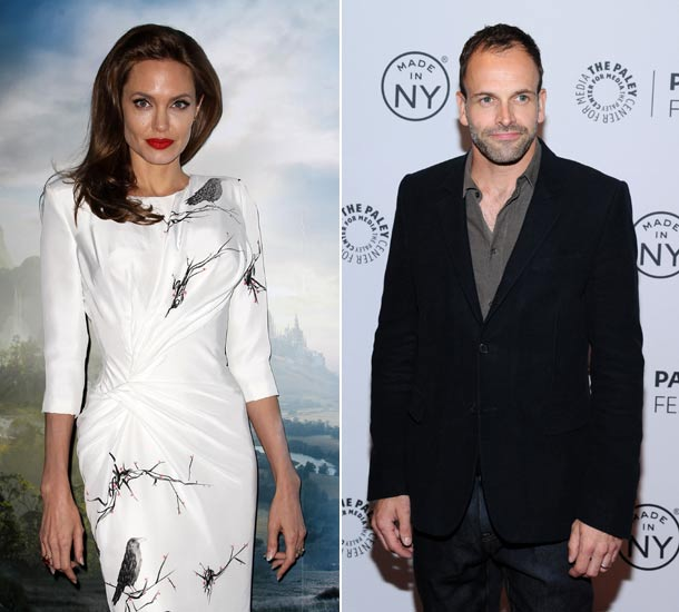 Angelina Jolie 'good Friends' With Ex Jonny Lee Miller