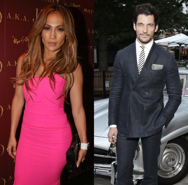 Jennifer Lopez David Gandy
