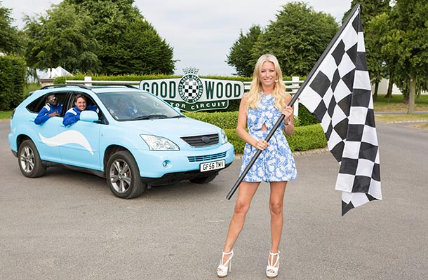 Denise Van Outen at Goodwood Festival of Speed