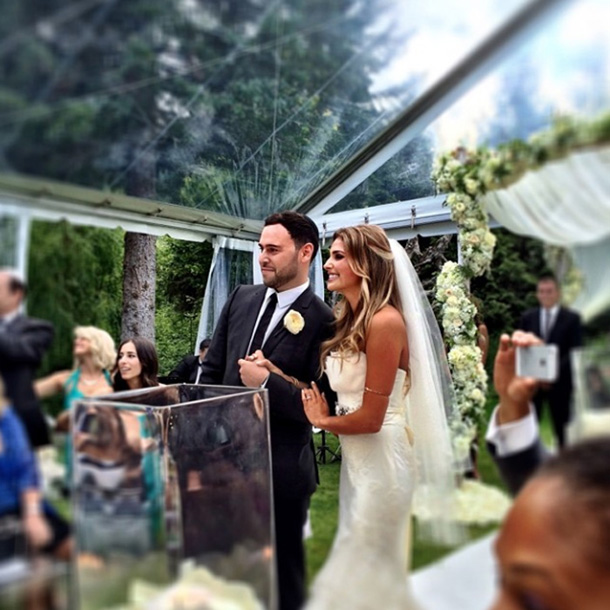 scooter braun wedding