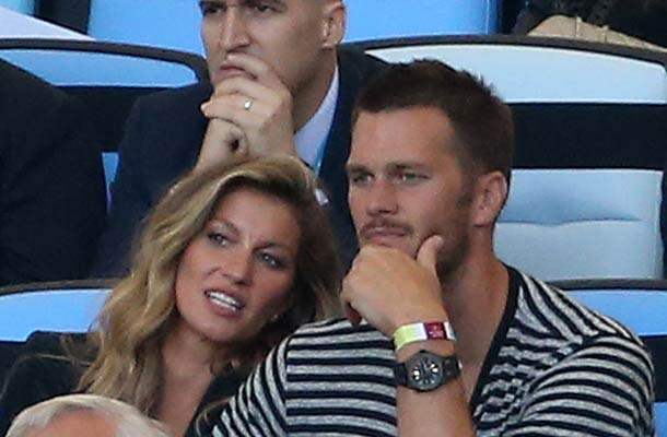 Gisele Bunchen and Tom Brady